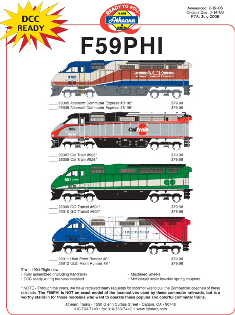 F59ph Ho Scale Wiring Diagram Free Download N Dcc Diagrams Pwrs Pacific Western Rail Systems Ballast T5 39w 2 At