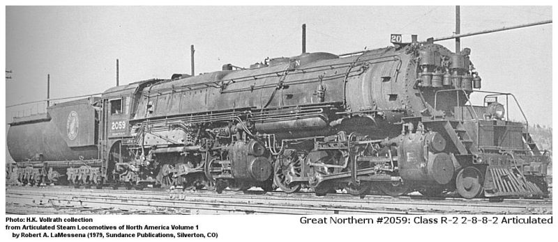 Image result for great northern r-2