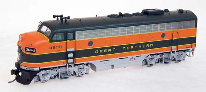 Model Train Structures Intermountain F7 Great Northern