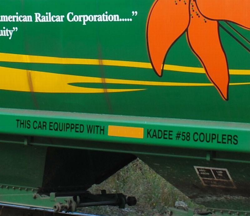 Close Up of Kadee Side of Car in Chilliwack