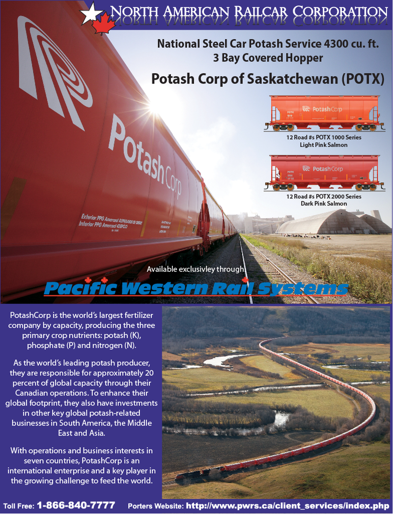 PWRS Pacific Western Rail Systems Pacific Western Rail Systems