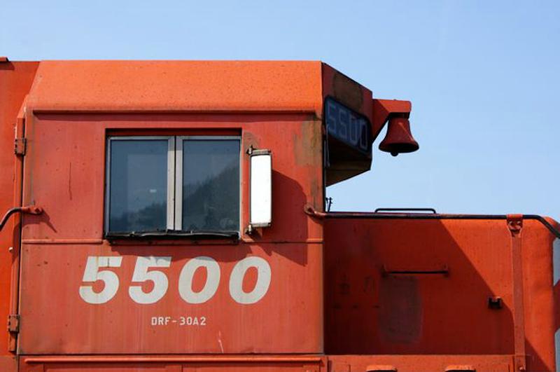 SD40 CP 5500 cab