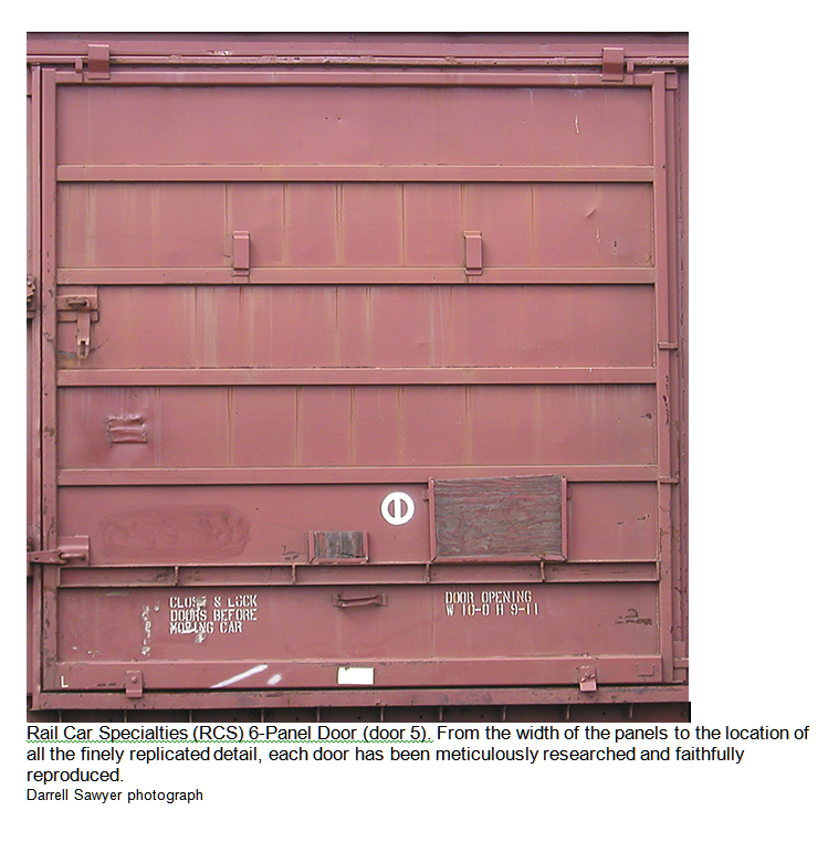 Rail Car Specialties 6 panel