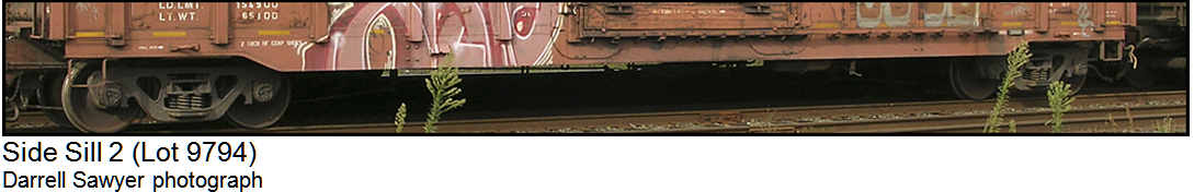 Side Sill 1 Lot 9602