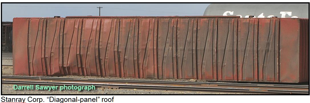 Stanray diagonal roof