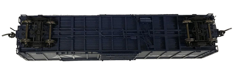 NARC 5077 Pullman Standard Boxcars - Montana Rail Link - Undercarriage