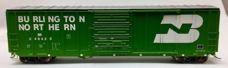 5077 Pullman Standard Burlington Northern BN