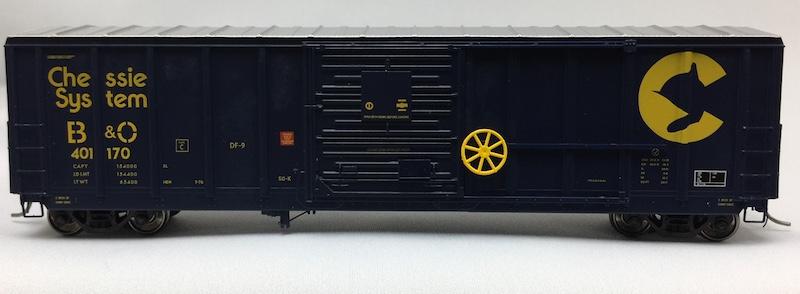 5077 Pullman Standard Boxcar Chessie System B&O