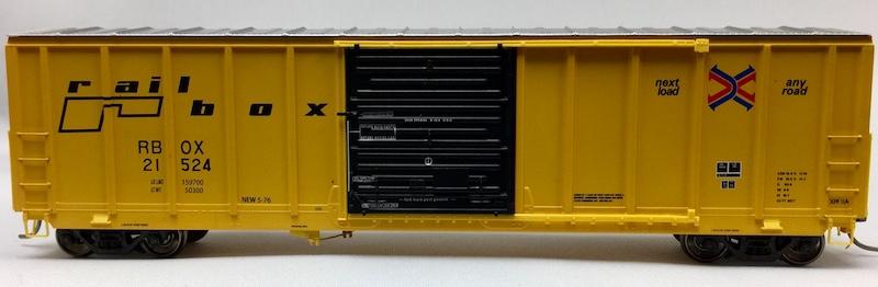 5077 Pullman Standard Rail Box RBOX