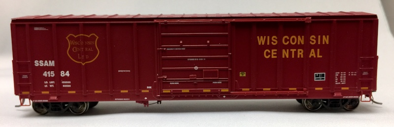 5077 Pullman Standard Wisconsin Central WC