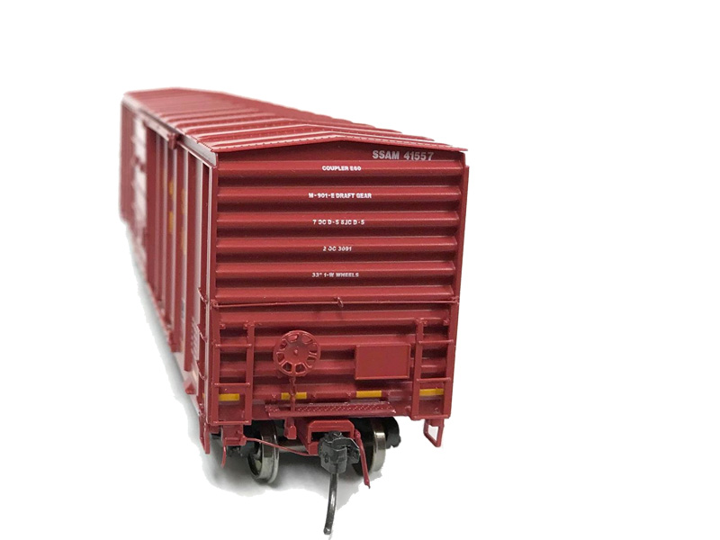 NARC 5077 Pullman Standard Boxcars - Wisconsin Central LTD - Ends