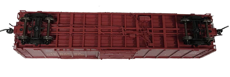 NARC 5077 Pullman Standard Boxcars - Wisconsin Central LTD - Undercarriage