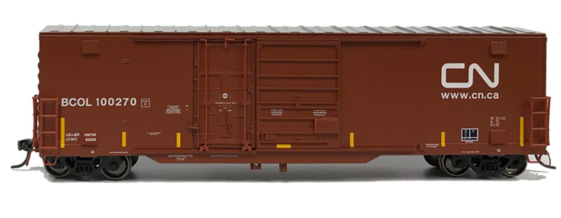 NARC 5092 National Steel Cars - Canadian National BCOL - Side