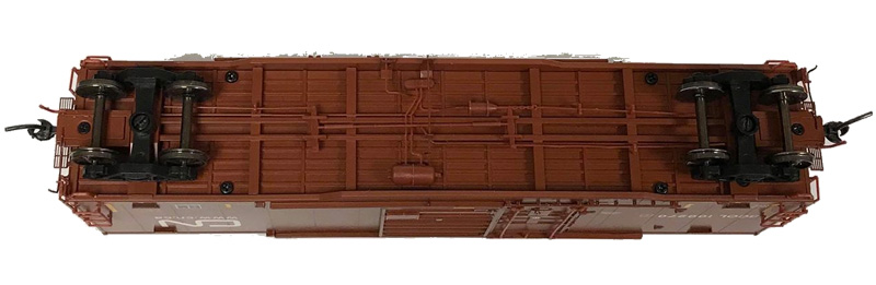 NARC 5092 National Steel Cars - Canadian National BCOL - Undercarriage
