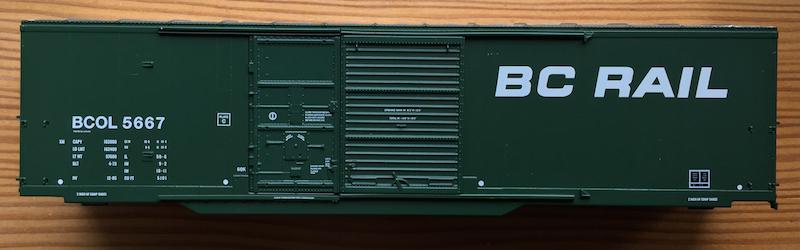 BCOL 5600 Dark Green BC Rail Italic