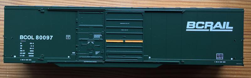 BCOL 80000 Dark Green BC Rail