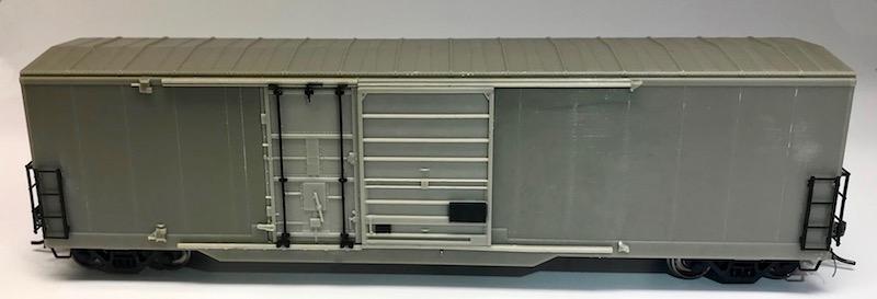 Bc Rail 5092cf Combo Door Box Car