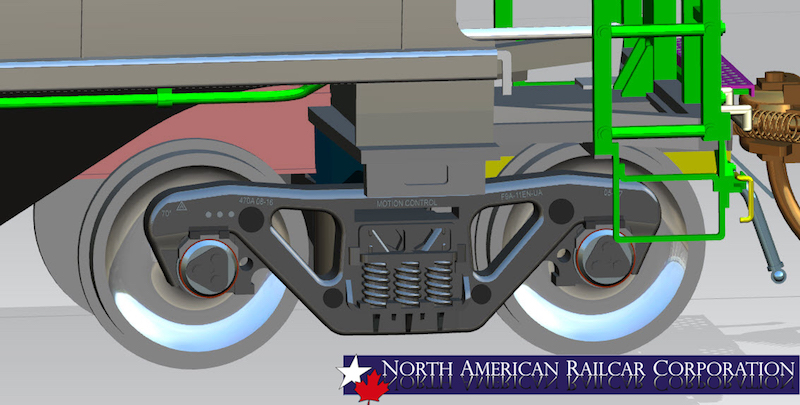 3d Rendering of 5431 - Trucks Mounted