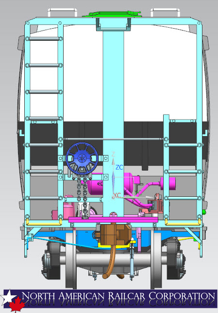3d Rendering of 5431 - Back View