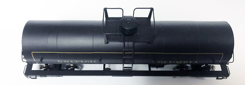 Top Funnel of PWRS Exclusive Atlas British Columbia Tank Car