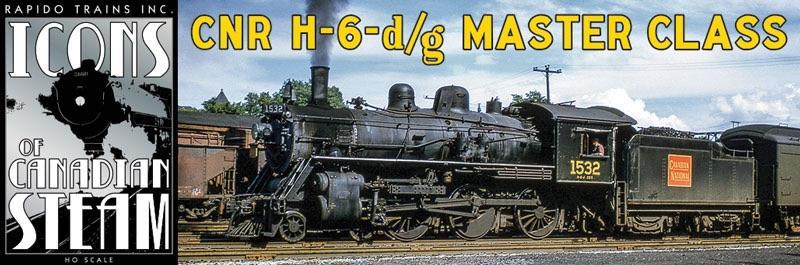 Rapido HO Scale H6 Steam Title Page 1