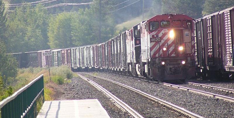 BC  Rail Dash-8