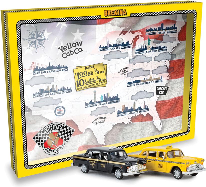Brekina Checkered Cab
