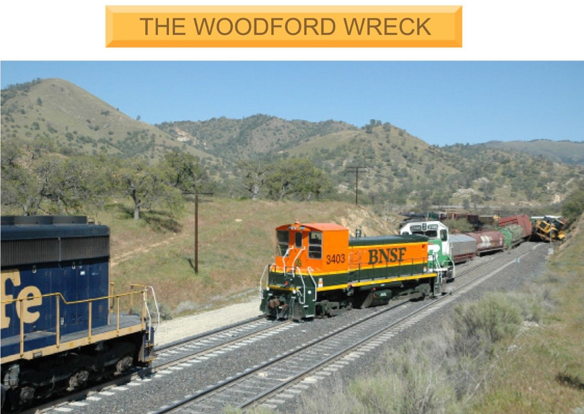 Woodford Wreck