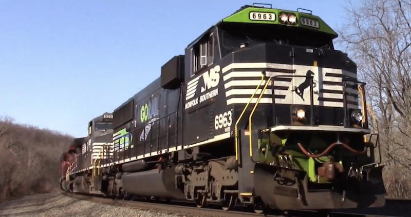 Athearn Genesis SD60 NS Go Rail