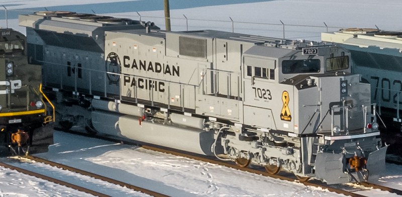 Canadian Pacific Military Locomotives Canadian and American Air Force