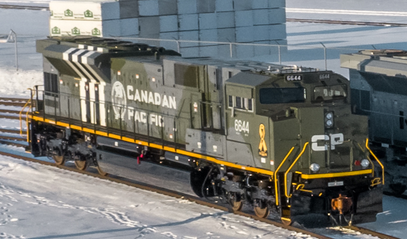 Canadian Pacific Military Locomotives 6644 D-Day