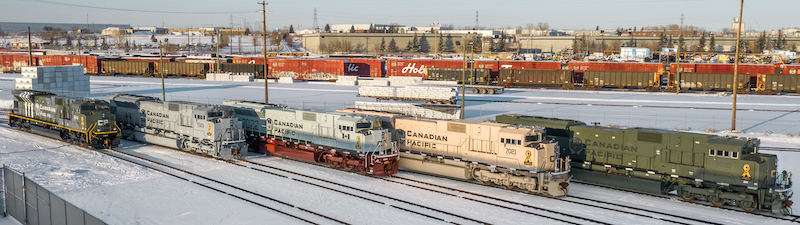 Canadian Pacific Military Locomotives