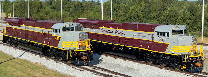 Canadian Pacific Heritage Units