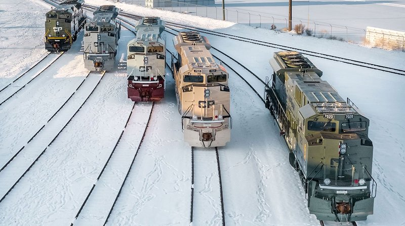 Canadian Pacific Heritage Units Front Image