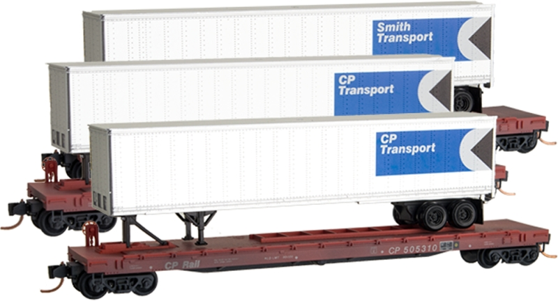 Micro Trains N-scale Trailer Freight Cars