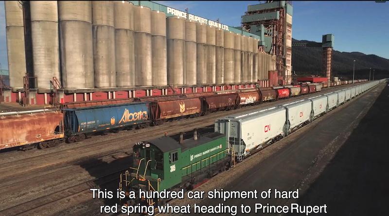 100 car shipment on CN
