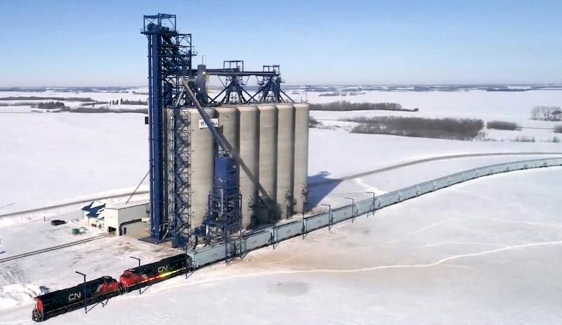 CN Grain loading station