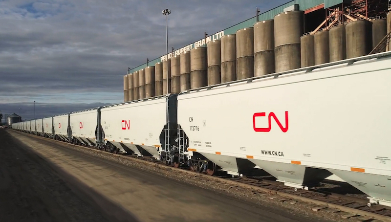 CN Side view