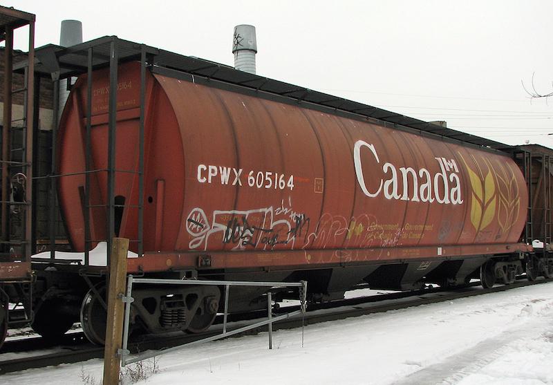 CPWX RED CANADA CAR