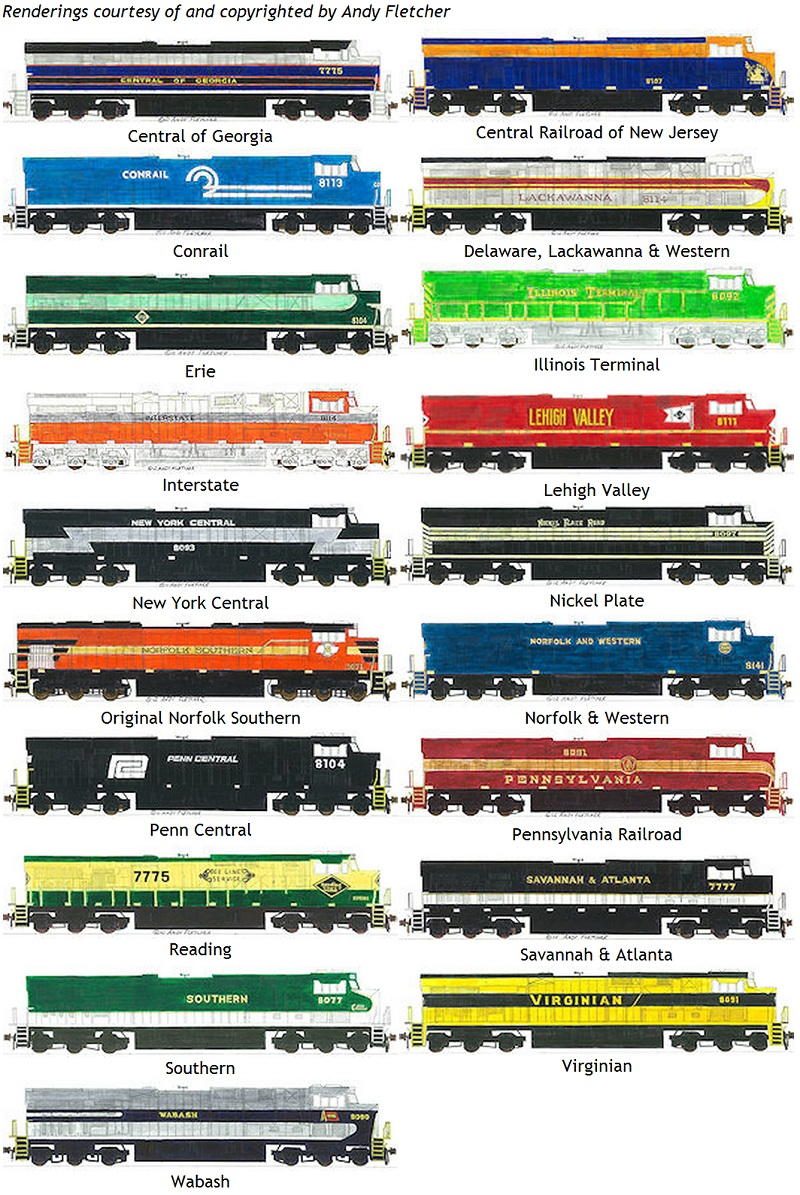 New ho scale locomotives