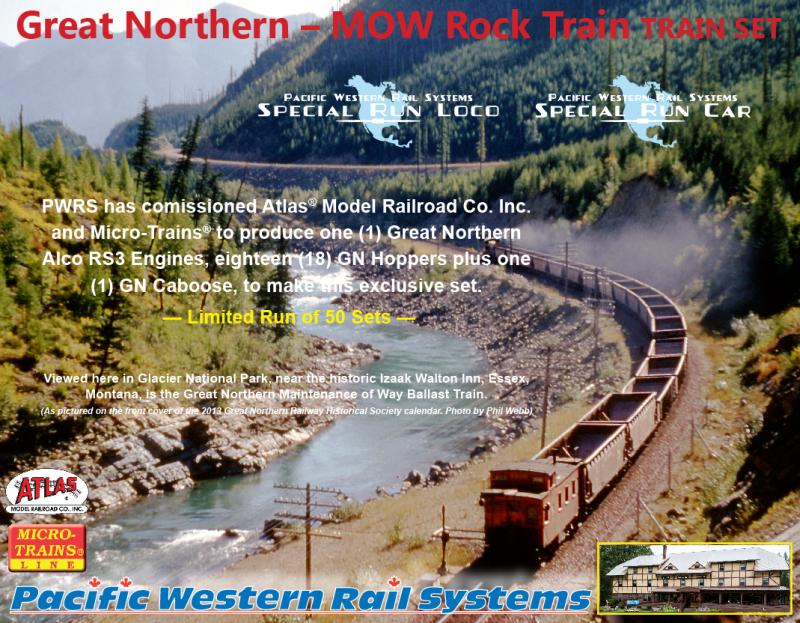 GN ballast train