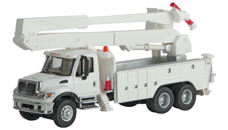 White 94911702 Walthers MOW Crew Bus