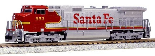 Kato Dash 9 Santa Fe N Scale