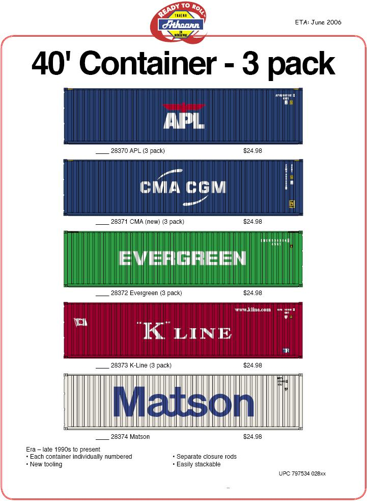 Ath HO containers K CMA Maersk