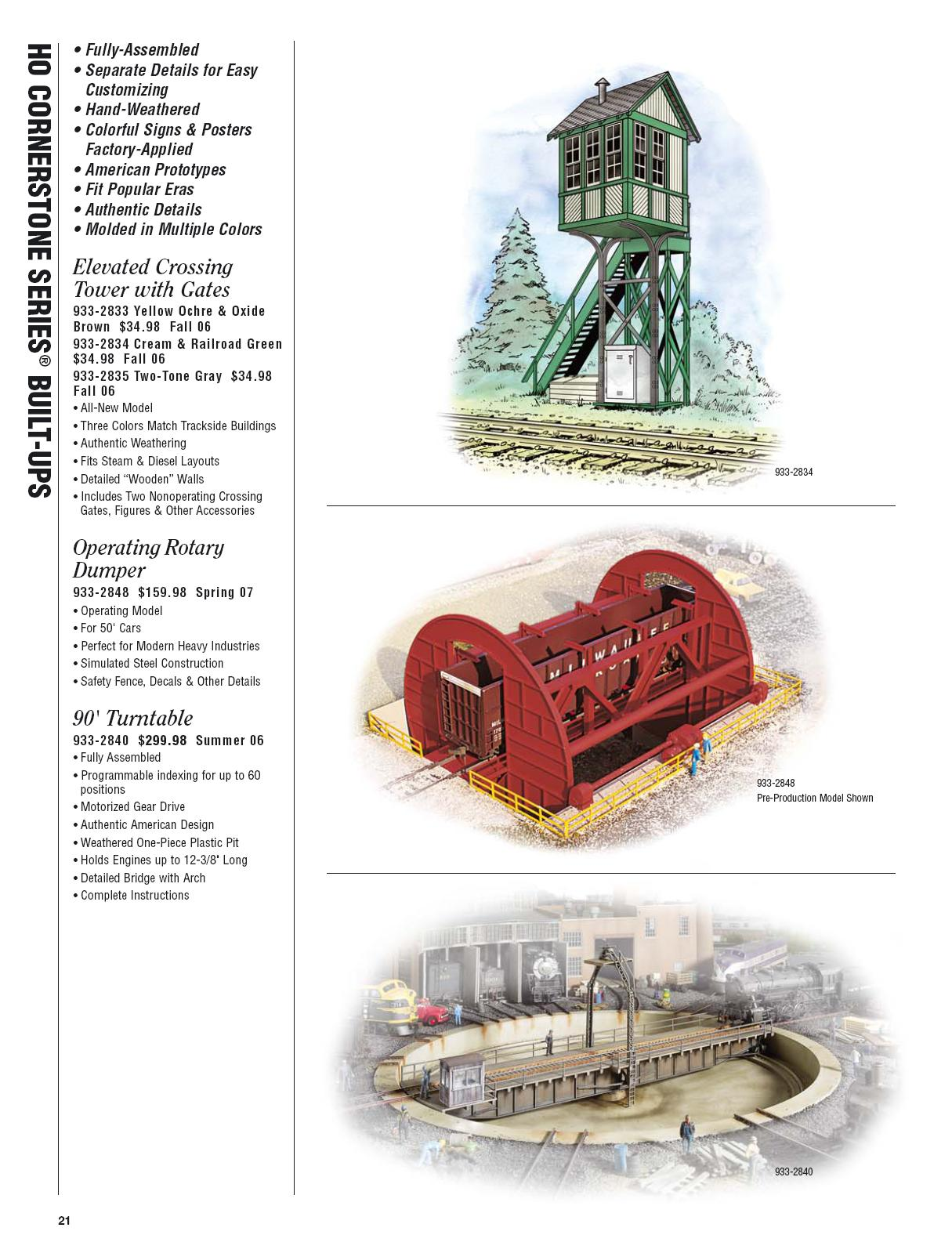 Walthers 2006 Cataloge Buildings page 1
