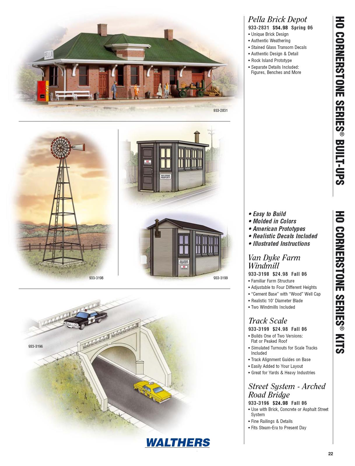 Walthers 2006 Cataloge Buildings page 2