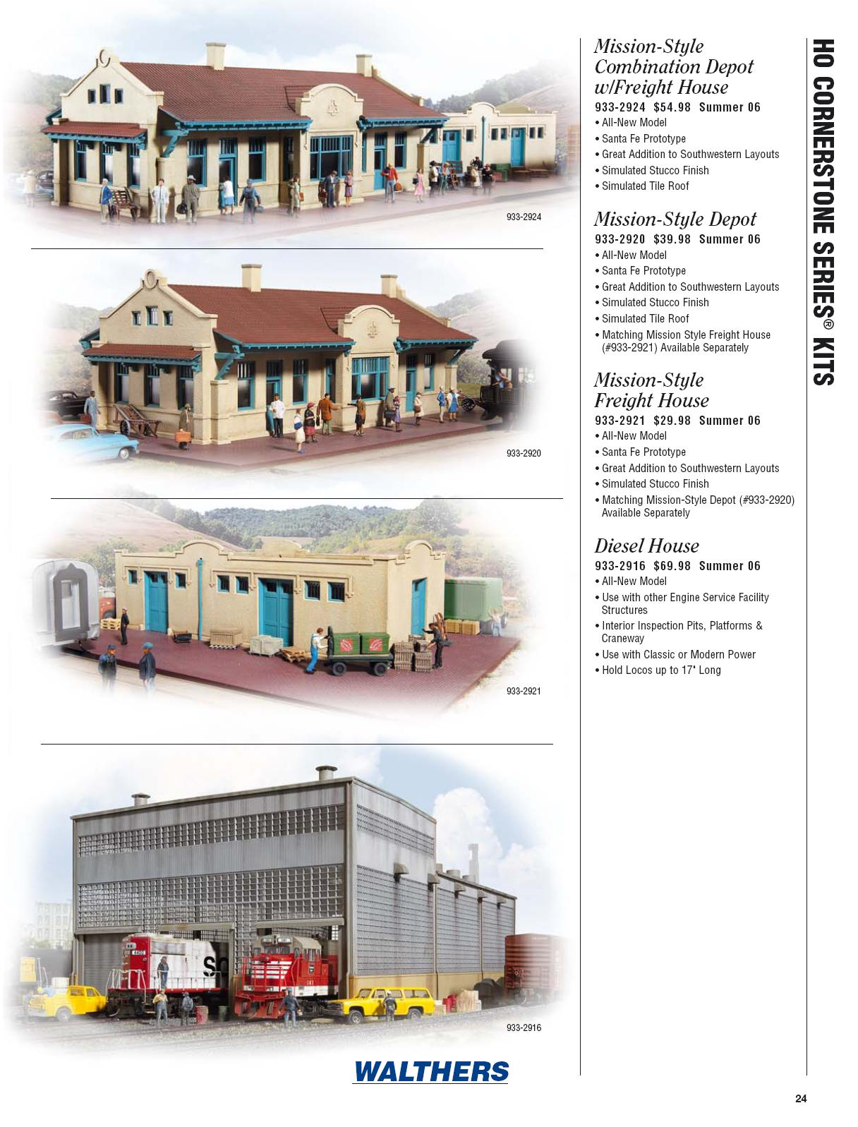 Walthers 2006 Cataloge Buildings page 4