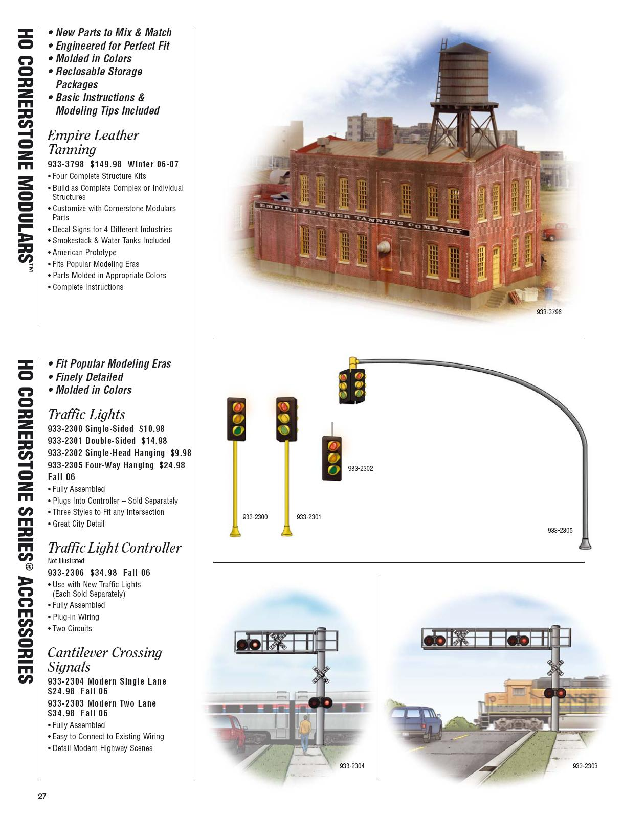 Walthers 2006 Cataloge Buildings page 6