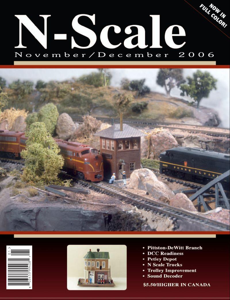 N Scale Mag Nov Dec 06 Issue