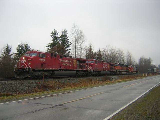 James Wiseman Photo CP BNSF Blaine Mar 2005